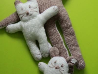 вязаные игрушки для деток