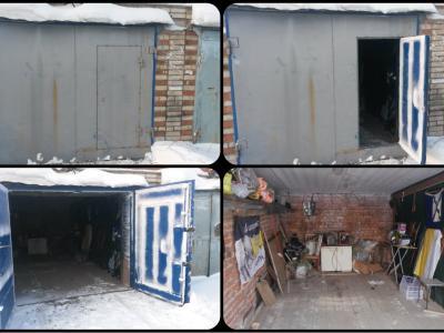 Продам кирпичный гараж, 18м2
