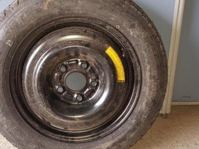 Запасное колесо, банан, докатк